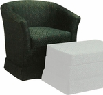 9550 Upholstered Lounge Chair w/ Skirt - Grade 1 [9550-GRADE1-ACF]
