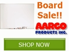 Aarco Dry Erase and Bulletin Board Sale!! Save by