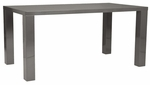 Abby-63'' Dining Table in Gray [09778GRY-A-09778GRY-B-FS-ERS]