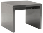 Abby Side Table in Gray [09716GRY-FS-ERS]