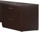 Aberdeen 36'' W x 20'' D x 27.5'' H Credenza Lateral File - Mocha [ACLF36LDC-FS-MAY]
