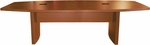 Aberdeen 6' W x 36'' D x 29.5'' H Boat Shaped Conference Table - Cherry [ACTB6LCR-FS-MAY]