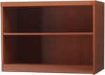 Aberdeen 36'' W x 15'' D x 29.5'' H Two Shelf Bookcase - Cherry [AB2S36LCR-FS-MAY]