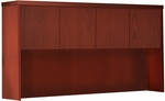 Aberdeen 60'' W x 15'' D x 39.13'' H Hutch with Wood Doors - Cherry [AHW60LCR-FS-MAY]