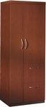 Aberdeen 68.75'' H Personal Storage Tower - Cherry [APSTLCR-FS-MAY]