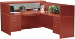 Aberdeen Reception Desk Suite - Cherry [AT36LCR-FS-MAY]