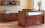 Aberdeen Reception Desk Suite - Cherry [AT37LCR-FS-MAY]