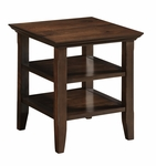 Acadian Collection Tobacco Brown End Table [AXWELL3-003-FS-SIH]