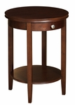 Shelburne Cherry Accent Table [998-506-FS-PO]