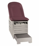 Access Exam Table (w/ Pneumatic Back) 500lb Capacity [5000-BRW]