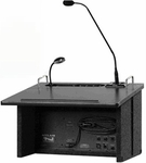 Acclaim Lectern with Built-in Wireless Receiver [ACL-7500U1BK-FS-ANC]