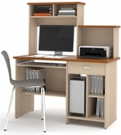 Active Computer Workstation - Copper Cherry and Northern Maple [86450-4155-FS-BS]