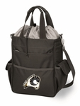 Activo Waterproof Tote - Black- Virginia Commonwealth University Digital Print [614-00-175-954-0-FS-PNT]