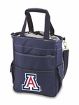 Activo Waterproof Tote - Navy- University of Arizona Digital Print [614-00-138-014-0-FS-PNT]
