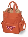 Activo Waterproof Tote - Orange- Virginia Tech Digital Print [614-00-103-604-0-FS-PNT]