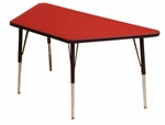 Adjustable Height Trapezoid 1.125'' Table [2448T-CSC]