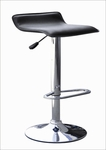 Adjustable Swivel Bar Stool in Black - Set of 2 [N2-CS-554-BLACK-FS-NSRT]