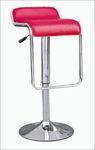 Adjustable Swivel Bar Stool w/ Rounded Back in Red - Set of 2 [N2-CS-512-RED-FS-NSRT]