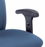 Adjustable Height T-Pad Armrest Kit for Uber™ Big and Tall Chairs - Black [3496BL-FS-SAF]
