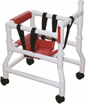 Adjustable Adapt A Walker with Casters - Fits Child 36'' - 48'' Tall [AW-SM-MJM]