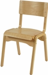 Adult Natural 16'' Stack Chair [AD1100-NAT-IFK]