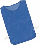 Adult Nylon Mesh Pinnie in Royal - Set of 12 [MPABL-FS-CHS]