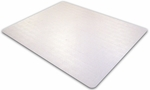 36''L x 48''W Advantagemat Phthalate Free Chair Mat for Low Pile Carpets 1/4'' or less [PF119225EV-FS-FTX]
