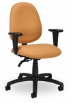 Advent 300 Series Medium Back Single Shift Adjustable Swivel and Seat Height Task Chair [AD211-M20-FS-SEA]