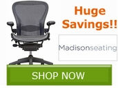 Aeron Chair by Herman Miller - HUGE Discounted Price!! Save Now!!