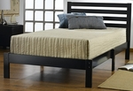 Aiden Twin Bed Set - Black [1757-330-FS-HILL]