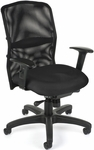 AirFlo Mesh Task Chair - Black [610-8161-FS-MFO]