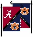 Alabama - Auburn 2-Sided Garden Flag - Rivalry House Divided [83245-FS-BSI]