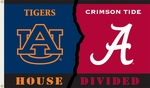 Alabama - Auburn 3' X 5' Flag with Grommets - Rivalry House Divided [95245-FS-BSI]