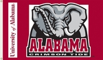 Alabama Crimson Tide 3' X 5' Flag with Grommets - Mascot Design [95002-FS-BSI]