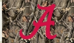 Alabama Crimson Tide 3' X 5' Flag with Grommets - Realtree Camo Background [95402-FS-BSI]