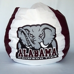 Alabama Crimson Tide Bean Bag Chair [BB-40-ALABAMA-FS-BBB]