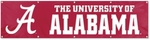 Alabama Crimson Tide Giant 8' x 2' Banner [BAL-FS-PAI]