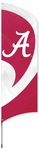 Alabama Crimson Tide Tall Team Flag w/ Pole [TTAL-FS-PAI]