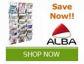 Save now on select office products from Alba!