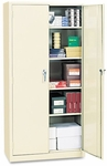 Alera® Assembled Welded Storage Cabinet- 36''W x 18''D x 72''H- Putty [ALECM7218PY-FS-NAT]