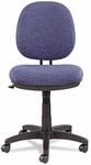 Alera® Interval Swivel/Tilt Task Chair - Tone-On-Tone Fabric - Marine Blue [ALEIN4821-FS-NAT]