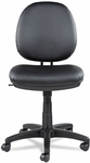 Alera® Interval Series Swivel/Tilt Task Chair- Soft-Touch Leather- Black [ALEIN4819-FS-NAT]
