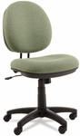 Alera® Interval Series Swivel/Tilt Task Chair - Tone-On-Tone Fabric - Parrot Green [ALEIN4871-FS-NAT]