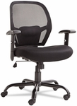 Alera® Merix450 Series Mesh Big/Tall Mid-Back Swivel/Tilt Chair- Black [ALEMX4517-FS-NAT]