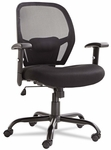 Alera® Merix450 Series Mesh Big/Tall Mid-Back Swivel/Tilt Chair - Black [ALEMX4517-FS-NAT]