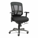Alera® Eon Series Multifunction Wire Mechanism - Mid-Back Mesh Chair - Black [ALEEN4217-FS-NAT]