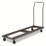 Alera® Folding Chair and Table Cart - 20-3/4w x 50-5/8d to 75-3/8d - Black [ALEFTCART-FS-NAT]
