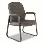 Alera® Genaro Series Guest Chair - Graphite Fabric - Sled Base [ALEGE43FC40B-FS-NAT]