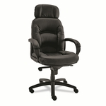 Alera® Nico Series High-Back Swivel/Tilt Chair - Black [ALENI41CS10B-FS-NAT]