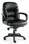 Alera® Nico Series Mid-Back Swivel/Tilt Chair - Black [ALENI42CS10B-FS-NAT]